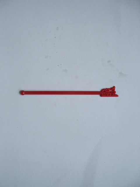 Train Stir Stick - Red
