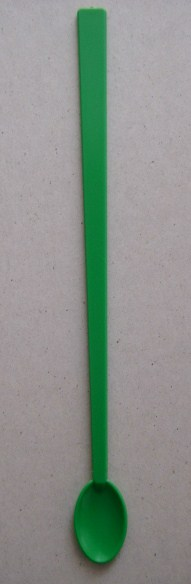 Spoon - Cocktail - Green - 8 inch