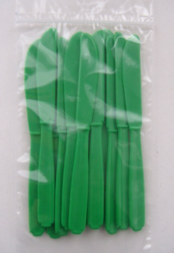 Knife - Green - Heavy Weight - 24 pack